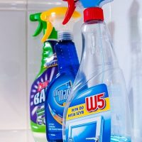 chemicals in household cleaners