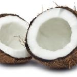 coconut cut open